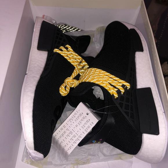 Adidas Shoes Pharrell X Nmd Human Race Black Poshmark